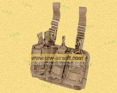 Pro-Arms Modular Leg Rig (Coyote Brown)